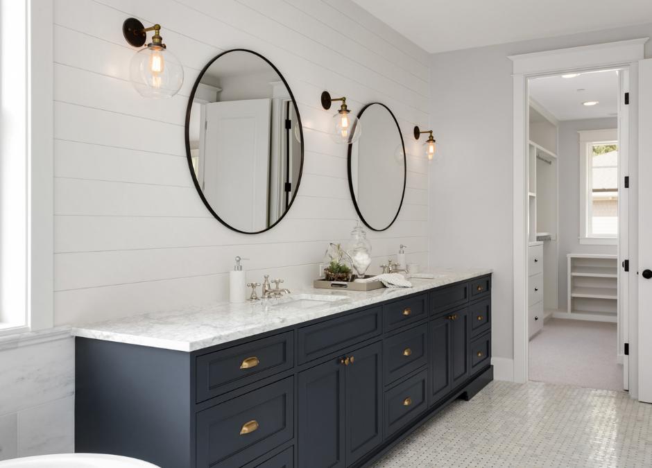 Bathroom and Custom closet construction
