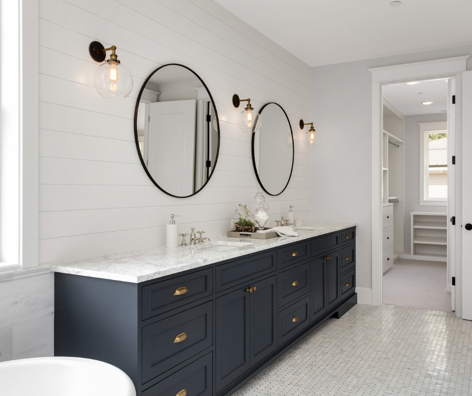 bathrooms and closets